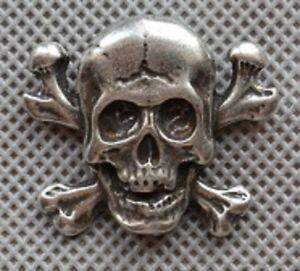 Skull Bones Anstecknadel pin pins - Poznan, Polska - Zwroty są przyjmowane - Poznan, Polska