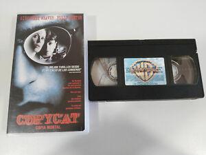 COPYCAT-COPY-MORTAL-SIGOURNEY-WEAVER-HOLLY-HUNTER-VHS-TAPE-TAPE-SPANISH