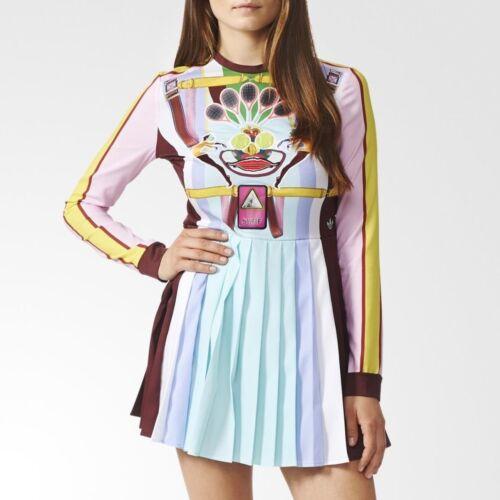 Adidas Mary Pleated Dress Katrantzou Women's By Sport Originals HqwtTWOxd