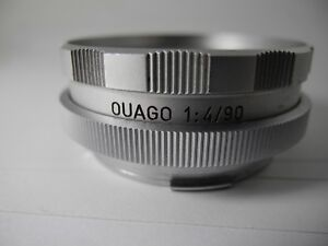 LEICA-OUAGO-Focusing-Adapter-For-Elmar-90mm-F-4-IN-PERFECT-WORKING-ORDER
