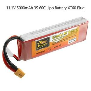 11-1V-5000mAh-60C-3S-Lipo-Battery-XT60-Connector-for-RC-Quadcopter-Drone-Car