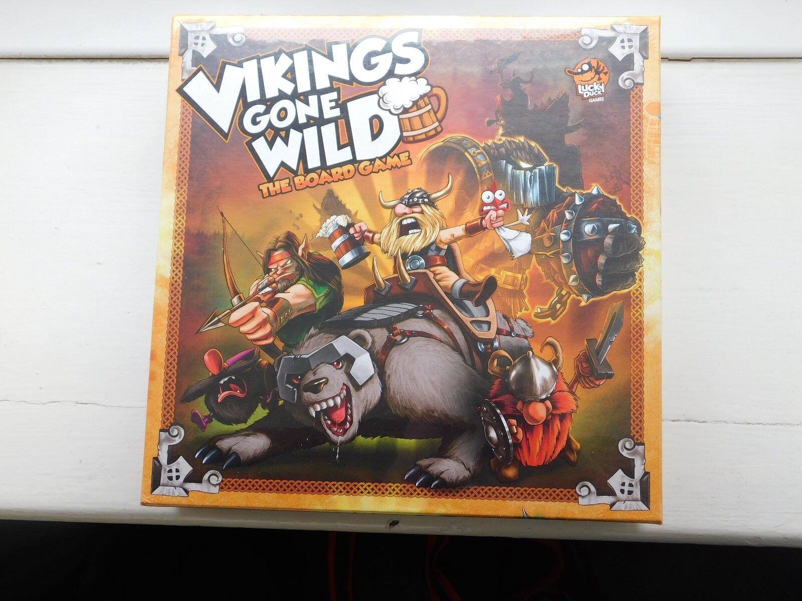 Vikings Gone Wild Board Game