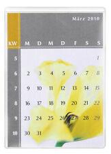25x DURABLE Selbstklebetaschen POCKETFIX seitlich offen 148 x 105 mm transparent