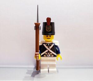 Lego-PIRATES-Imperial-Guard-Armada-BLUECOAT-Soldier-MINIFIG-Dark-Blue-VERSION