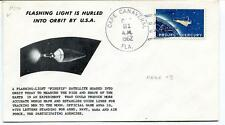 1962 Flashing Light Hurled Orbit Cape Canaveral Project Mercury NASA USA