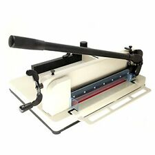 Hfsr Heavy Duty Guillotine Paper Cutter 12 Commercial Steel A3a4 Trimmer