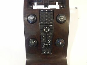 Details about 2004 2005 2006 VOLVO S40 V50 WOODGRAIN TRIM RADIO STEREO  CLIMATE CONTROL