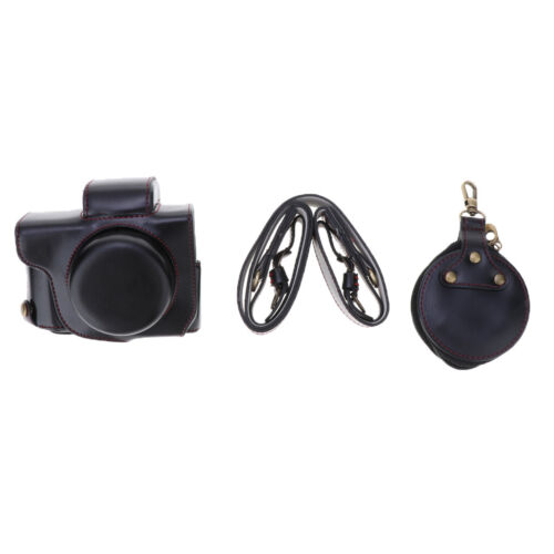 Black For Canon G1 X Mark III Camera Protector Case Cover