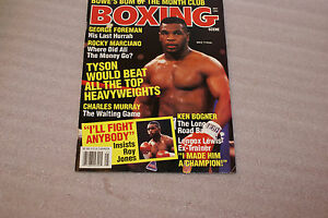 May-1993-Boxing-Scene-Magazine-Mike-Tyson-Cover