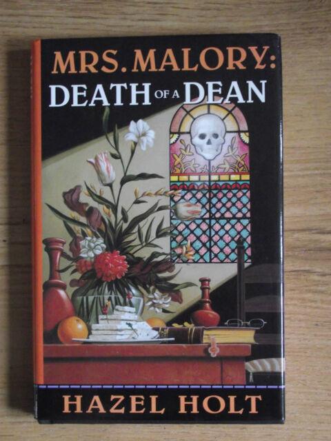 Death of a Dean by Hazel Holt 1996 Dutton first edition HBDJ