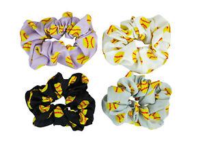 Dark Scrunchie Pack Neutral Scrunchie Pack Winter Fall Scrunchies Pack of 4 Scrunchies Handmade Hair Accessory Cheetah Scrunchie