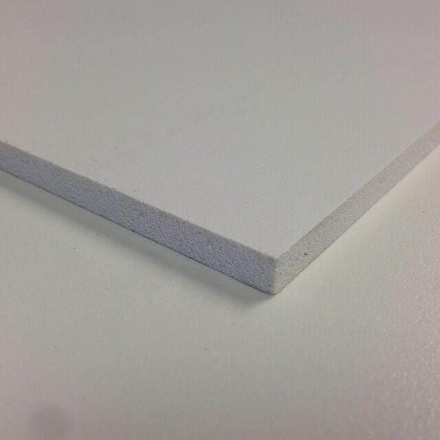 1mm 3mm 5mm Matt White Foam PVC Sheet  A4 A3 Foamex Foam PVC Sheet Sign Board