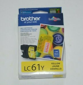Brother-LC61Y-Innobella-Ink-Cartridge-Yellow-AUTHENTIC-NEW