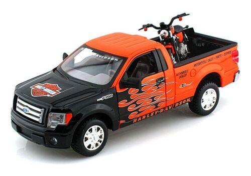 1:24xl1200 Nightster Maisto modelo 1:27 ford año de construcción 2010 f150 pickup