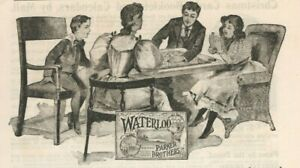 Parker Brothers Games 1895 Waterloo Barnum's Show Yankee Doodle Vtg Print Ad