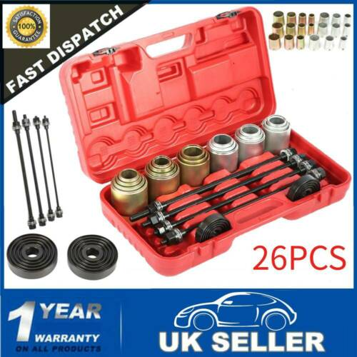 26Pcs Universal Press /& Pull à manches Kit Coussinet d/'insertion voiture Removal Set UK