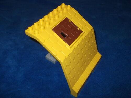 LEGO DUPLO ferme maison de poupée toit dachteil jaune poteau avec fenêtre de 5649