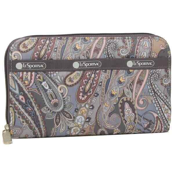 Le Sportsac Ladies Paisley Swirl Lily Wallet 6506-F477