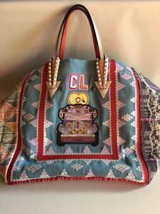 732c050886b Details about CHRISTIAN LOUBOUTIN MANILA CHARITY HAND BAG WOMEN LADIES RARE  JAPAN AUTHENTIC