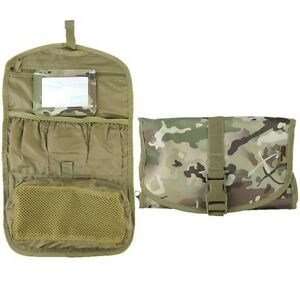 d4d35099439 MILITARY WASH BAG MIRROR WATERPROOF MTP BTP POUCH BRITISH ARMY CADET ...