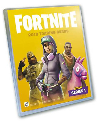 Binder /& All 100 Common Cards Album Panini Fortnite Trading Cards