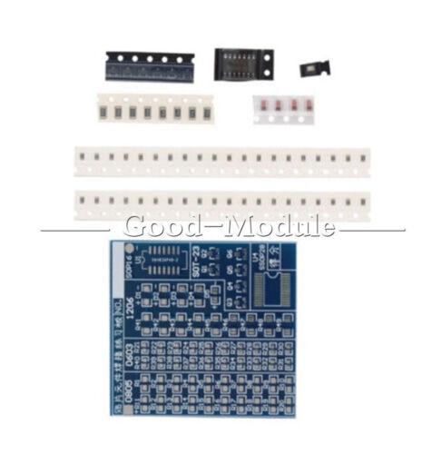 2PCS 5V DIY Kit SMT SMD Component Welding Practice Board for Soldering Practice