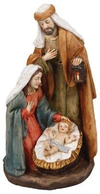 Xmas Nativity Set Holy Family Christmas Ornament 3 Figures Christmas Decoration