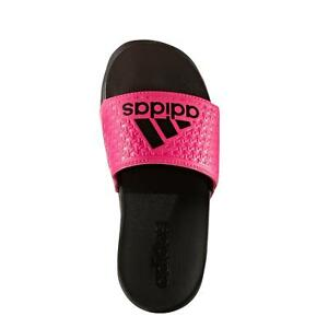 eead6c3e280aa1 Image is loading Adidas-Adilette-Couldform-Slide-Sandals-Pink-Black-Kids-