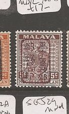 Malaya Jap Oc N Sembilan SG J164b signed MDR MNH (3dap)
