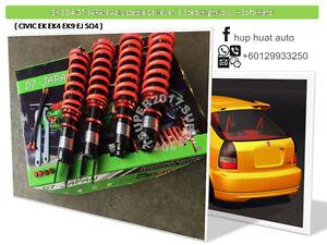 HONDA-CIVIC-EK-EJ-SO4-D7-JAPAN-Adjustable-Coilover-3step-High-Low-Soft-Hard