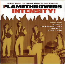 """THE FLAMETHROWERS  """"SUZETTE, THE KNIGHTS CAPER, INTENSITY, WHIPPY WOW""""  LISTEN!"""