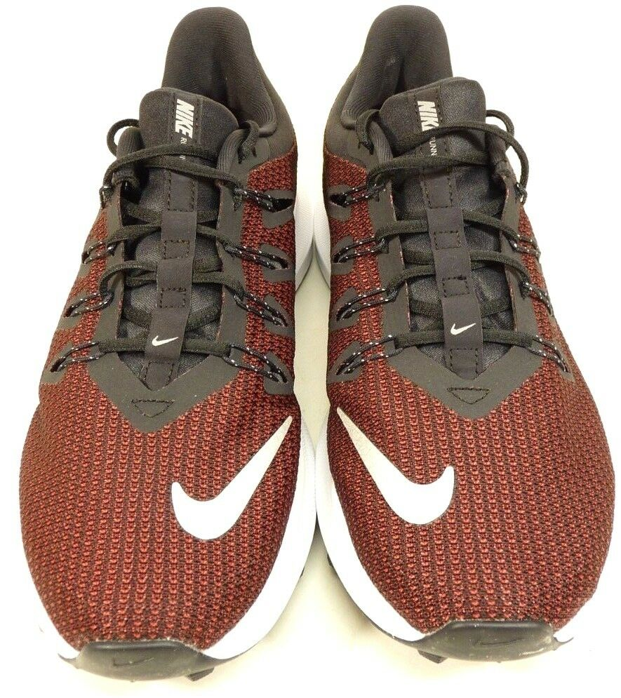 NEW Nike Men's Running Red And Black Sneakers AA7403-004 Sz 10.5   Free Shipping