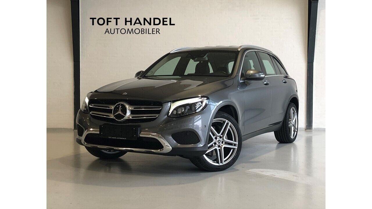 Mercedes GLC220 d 2,2 aut. 4-M 5d - 429.000 kr.