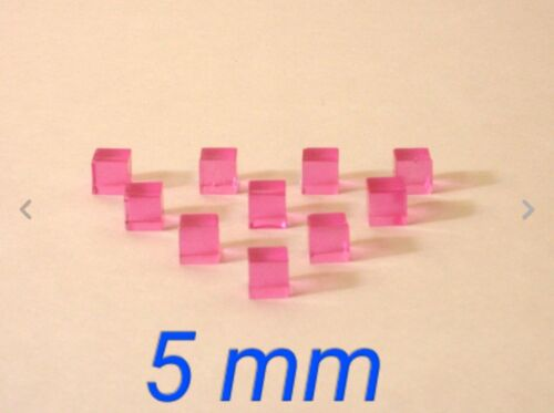 10 Pink Micro Energon Cubes for Transformers Micromasters and WST