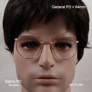 American Optical SAMPSON Ful-Vue  True antique eyeglasses & case