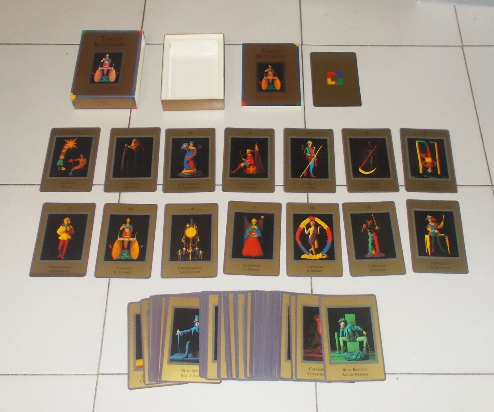 Tared Sai Tared Tared Tared Pine Sai Jean Louis Victor AGM Urania 1995 78 cards ffd92c
