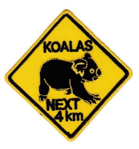 Am94 koalas NEXT 4 km ricamate STAFFA immagine applicazione Australia ORSO SCUDO