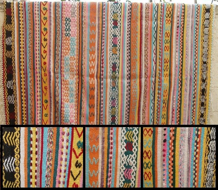 Superbe tapis avec décoration géométrique    => 1.90 x 1,90 (14b) | Paquet Solide Et élégant  d84619