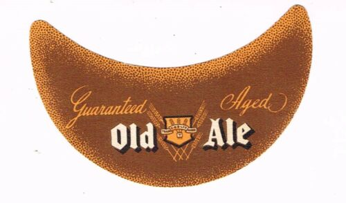 1930s CANADA CB Brewery OLD ALE Beer Neck Label Tavern Trove