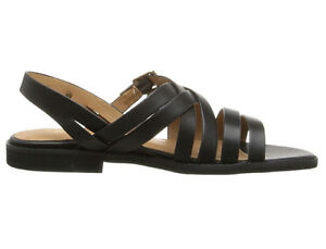 Image is loading New-Bass-AMIDY-Leather-Women-Sandals-Size-8-