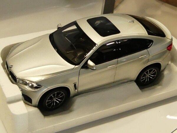 1/18 NOREV BMW x6 x6 x6 M Argento 2015 183200 8e78f7