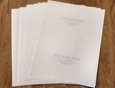 10 Inkjet Printer Fabric Transfer Paper Alpha Double Green Heat Iron On 85 X 11