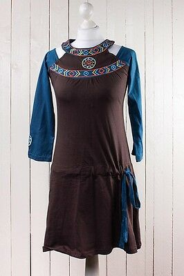 ganja-la Kleid Hippie Indica Festival Longshirt Gypsy Ethno dress Ethnokleid