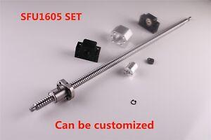 CNC SFU1605 End Machine Ball Screw & Ballnut Housing & Couplers & BK/BF12