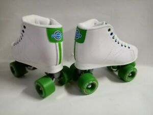 Kryptonics-Downtown-White-Green-Rollschuhe-Roller-Skates-Gr-37-38