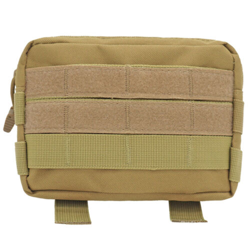 Outdoor Tactical Backpack Shoulder Strap Bag Pouch Molle Accessory Hunting Tools