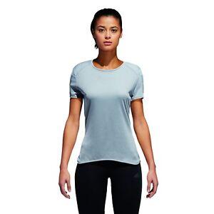 Adidas-Performance-Damas-Correr-Camiseta-Response-Manga-Corta-3S-Tee-W-Gris
