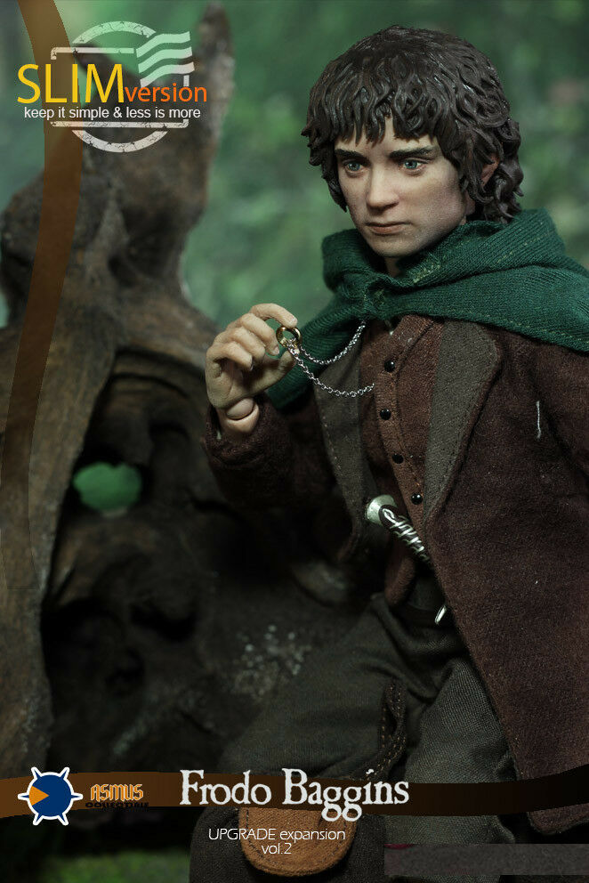 Asmus Toys 1/6 LOTR014S Frodo Baggins The Lord of the Rings Action Figure