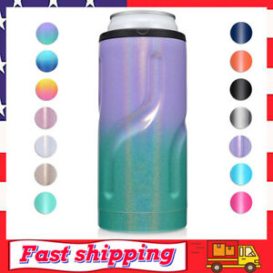 Can Cooler for 12 oz Slim Cans Double-walled Stainless Steel Insulated Coolers