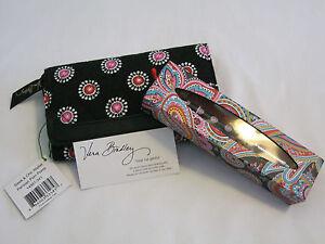Vera Bradley PARISIAN PAISLEY Pen POM POMS SLEEK   CHIC Wallet 4 ... 8cb52317c37b8